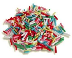 Codetta di zucchero Multicolor